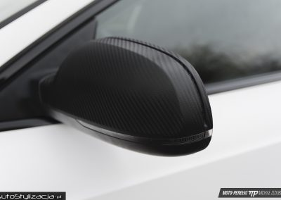 Audi A5 Sportback Bialy Satynowy