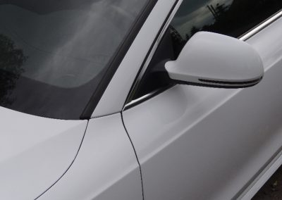 Audi A5 Folia Biały Połysk