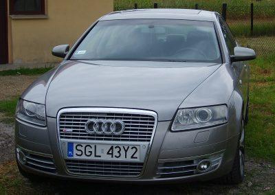 Audi A6 Biały Karbon Hexis