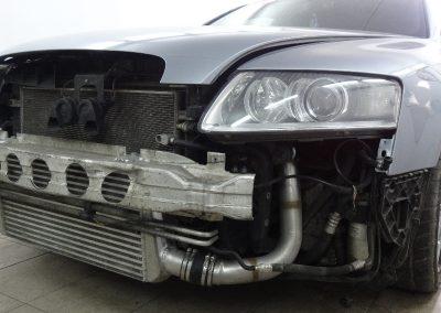 Audi A6 Szary Mat Metalic
