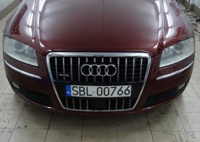 Audi A8 Folia Czarny Mat