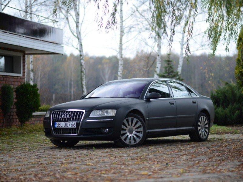 Oklejanie Lakieru Auta Audi A8