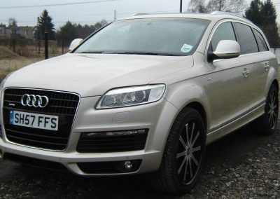 Audi Q7 Folia 3M