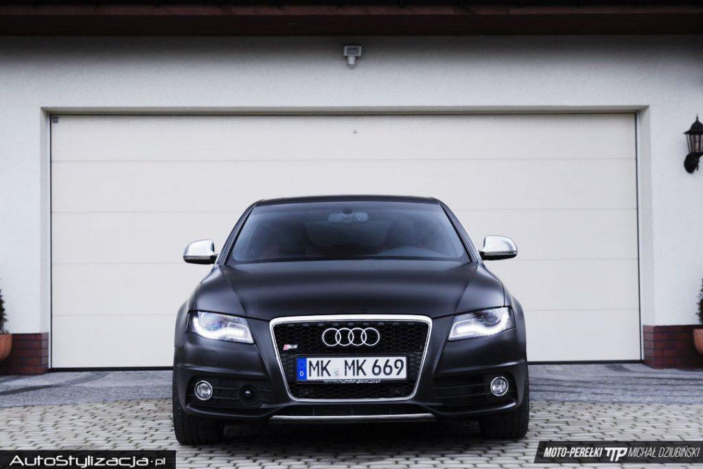 Zmiana Koloru Auta Audi A4