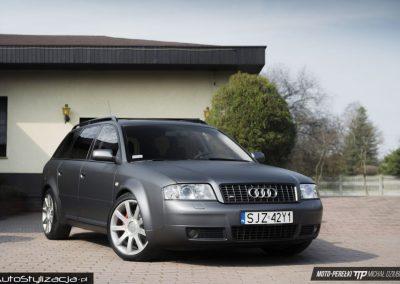 Zmiana Koloru Audi S6 na Szary Mat Metalik