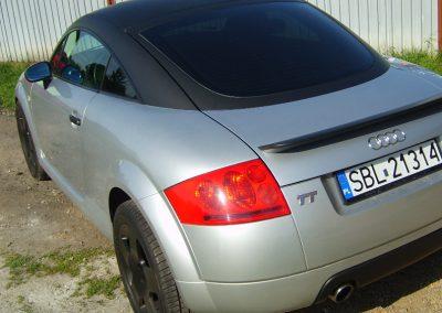 Audi TT Black Matt