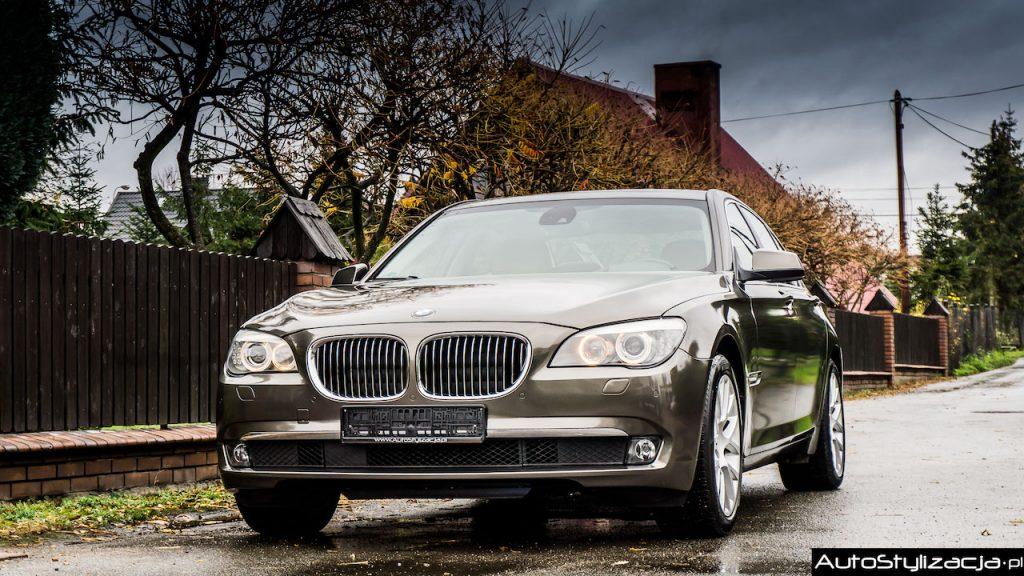 Stylizacja BMW 7 Folią Brązowy Metalik