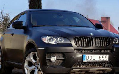 Oklejenie Auta BMW X6