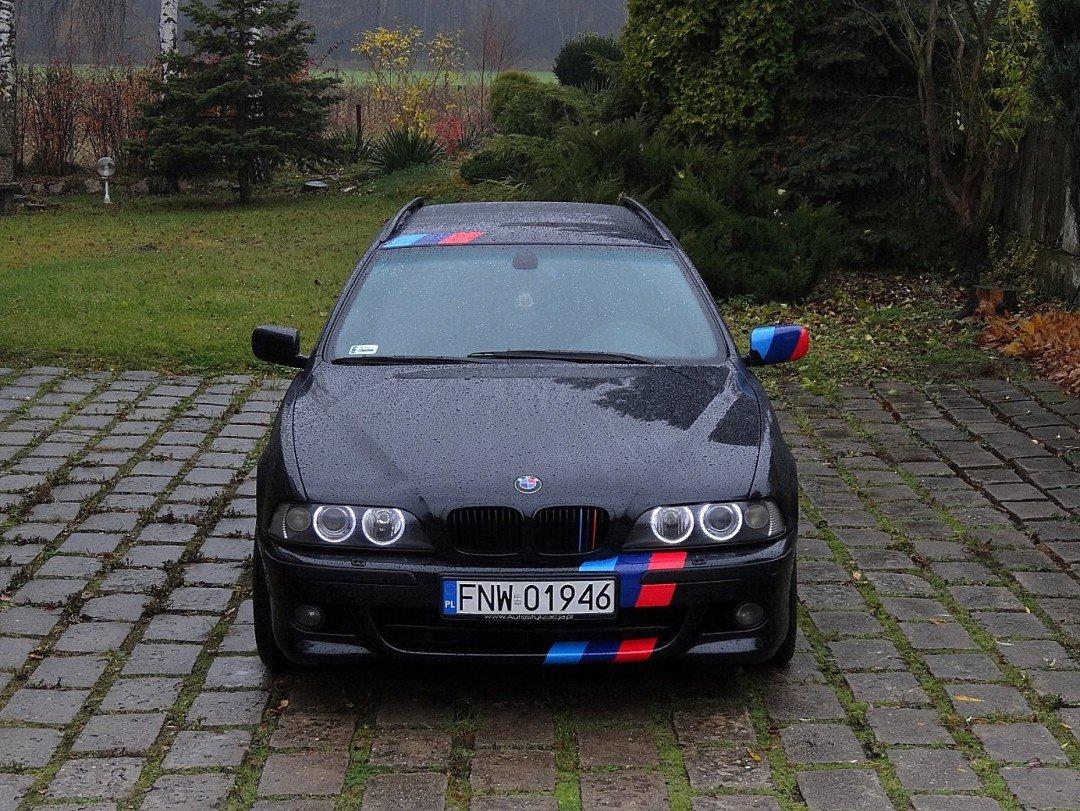 Stylizacja Nadwozia Folią w Aucie BMW E39