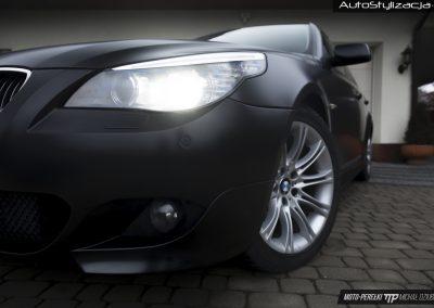 BMW E60 Folia Black Satin