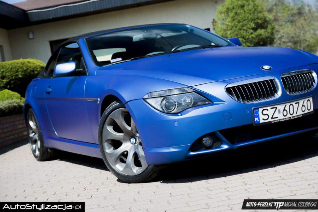 Zmiana Koloru Auta BMW E63