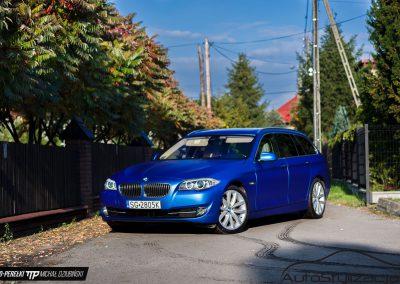 Oklejanie Folią Auta BMW F11 Seria 5 Kombi
