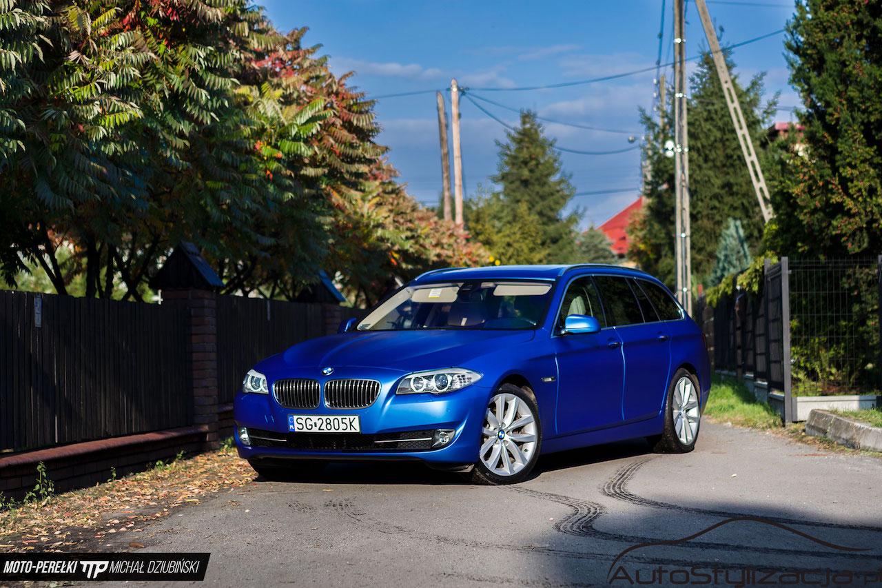 Oklejanie Auta BMW Folią Mat Metalik