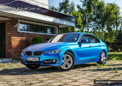 Oklejanie Lakieru Auta w BMW 3 F30