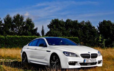 Zmiana Koloru Folią Biały Połysk BMW 6