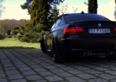 BMW M3 Kolor Czarny Satynowy