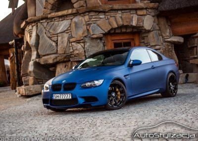 Oklejanie Auta BMW M3 Folią Arlon