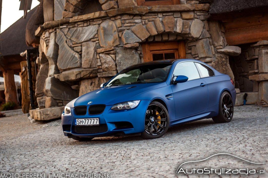Zmiana Koloru Auta BMW M3