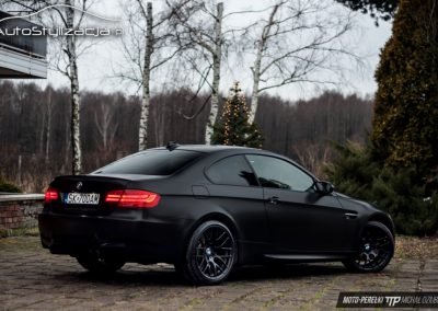 BMW M3 Satin Black
