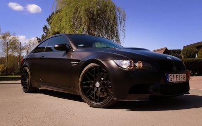 Foliowanie Karoserii na Czarny Satynowy w BMW M3
