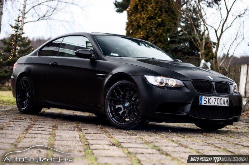 Zmiana Koloru Samochodu w BMW M3