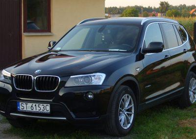BMW X3 Czarny Mat