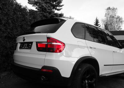 BMW X5 Folia Biały Połysk