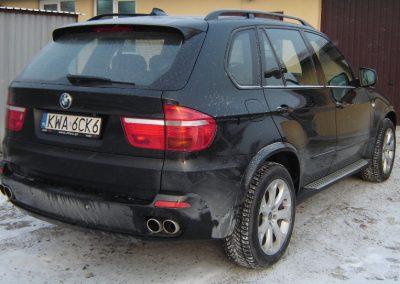 BMW X5 Czarny Mat 3M