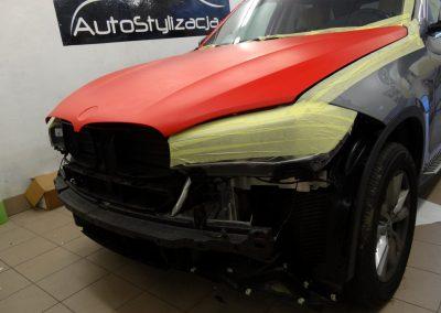 BMW X5 F15 Czerwony Mat