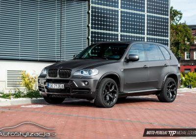 BMW X5 Szary Mat 3M