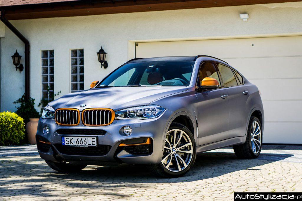 Oklejanie Samochodu Folią w BMW X6