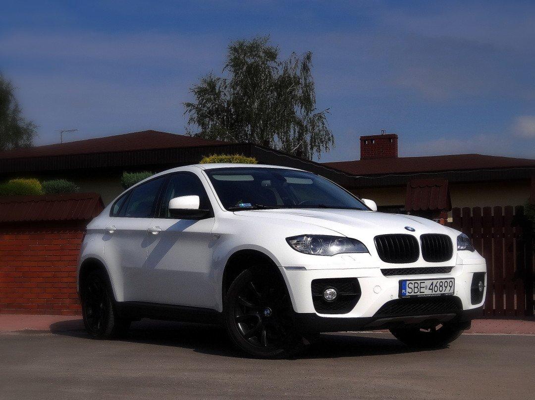 Zmiana Koloru Auta BMW X6