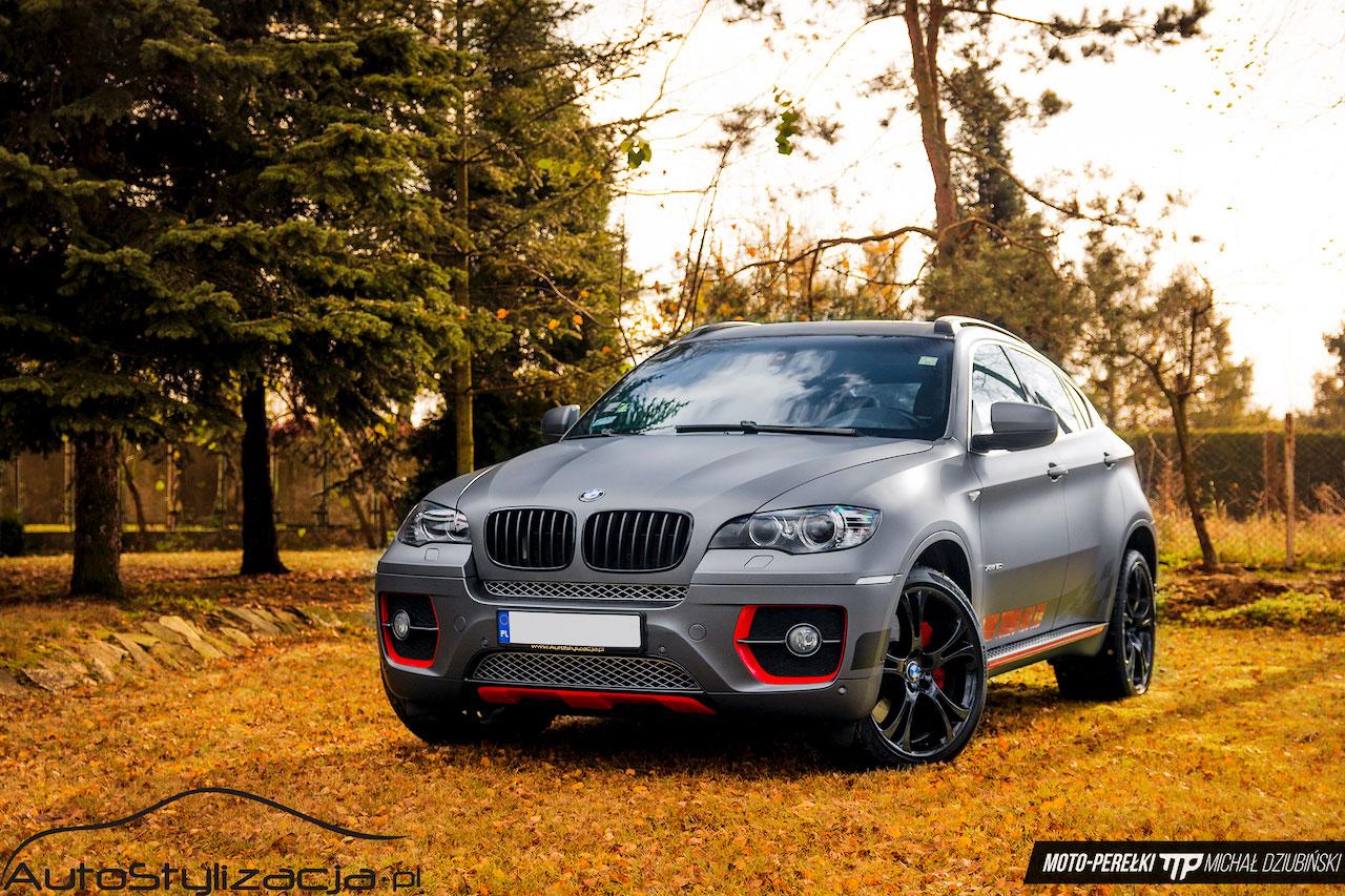 Oklejania Auta BMW Folią Szary Mat