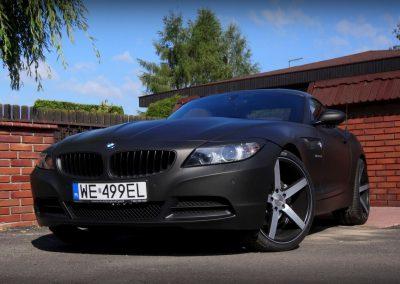 BMW Z4 Folia Black Matte