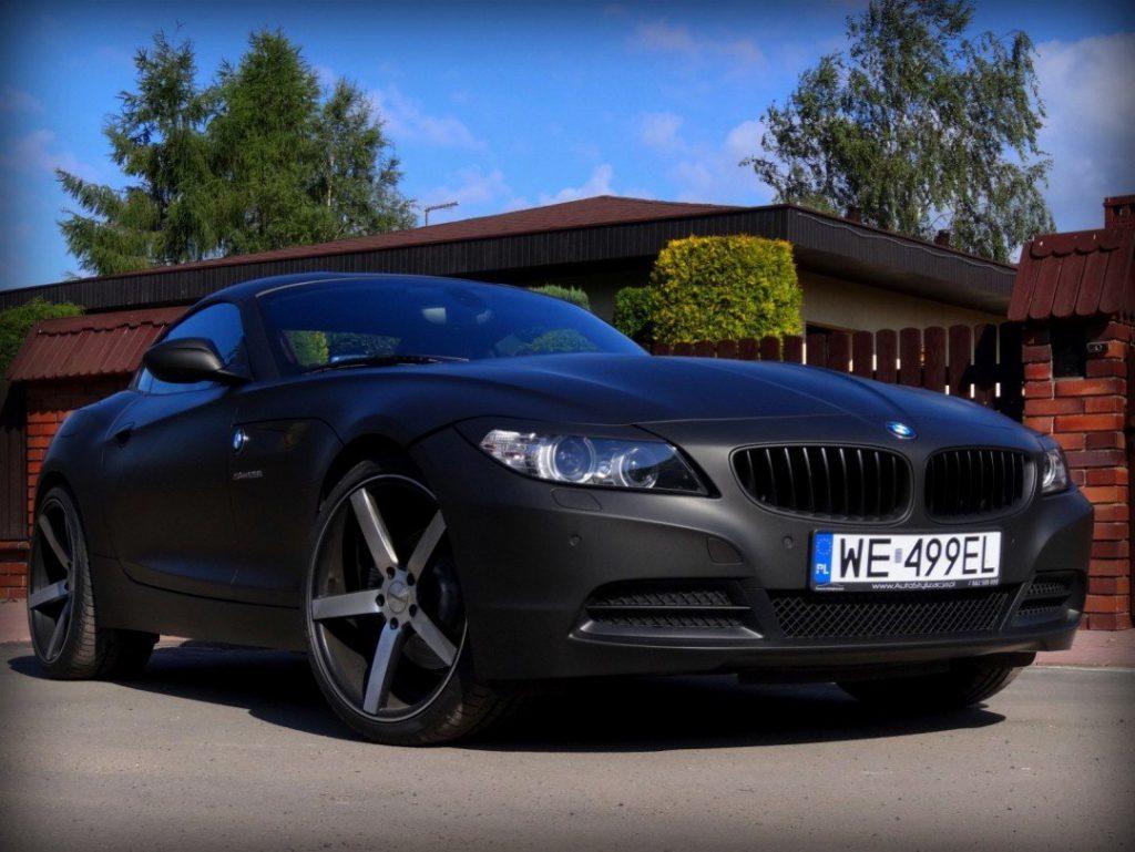 Profesjonalne Oklejanie Auta BMW Z4
