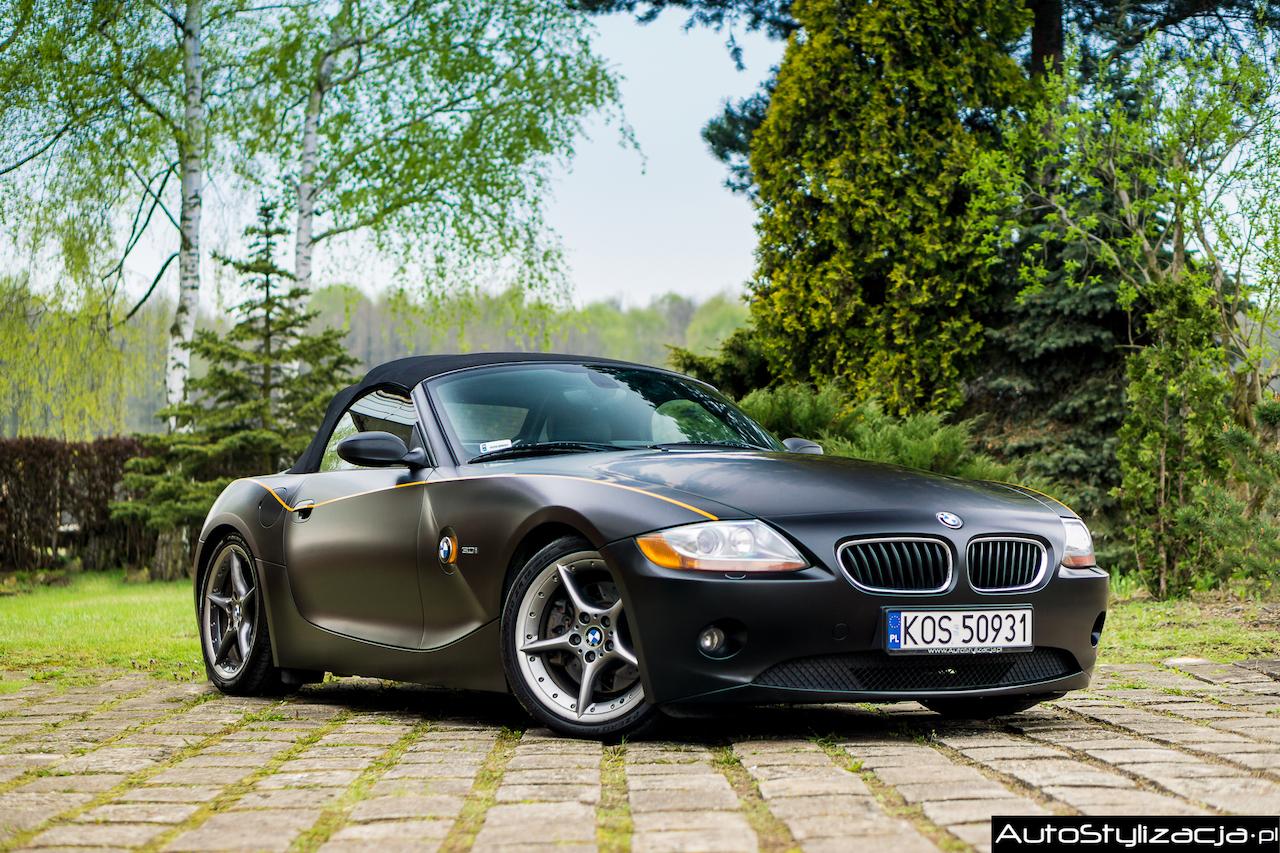 Zmiana Koloru BMW Kolor Czarny