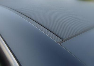 BMW 6 Folia Czarny Mat