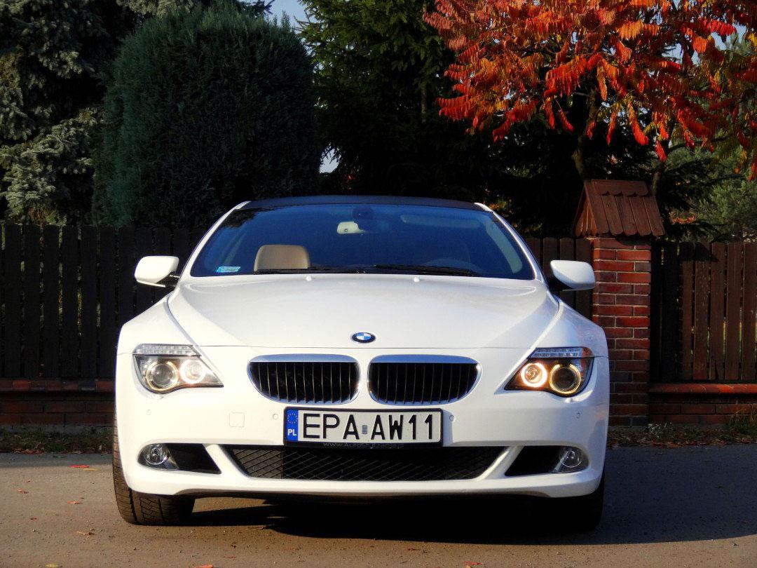 BMW 6 Folia Biały Połysk