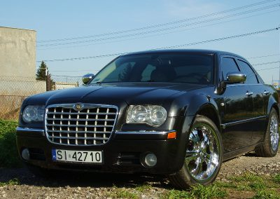 Chrysler 300C White 3M