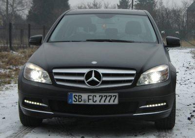 Zmiana koloru samochodu marki Mercedes C
