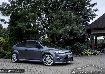 Ford Focus RS Folia Szary Mat Metaliik