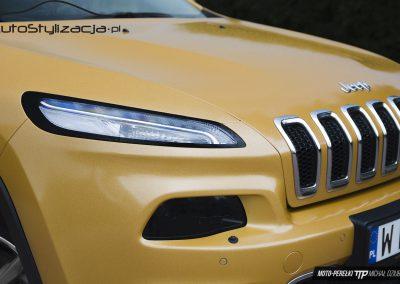 Jeep Cherokee Folia Złoty Brokat