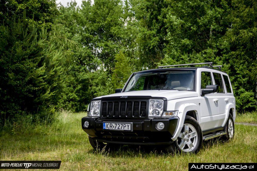 Foliowanie Auta Jeep Commander