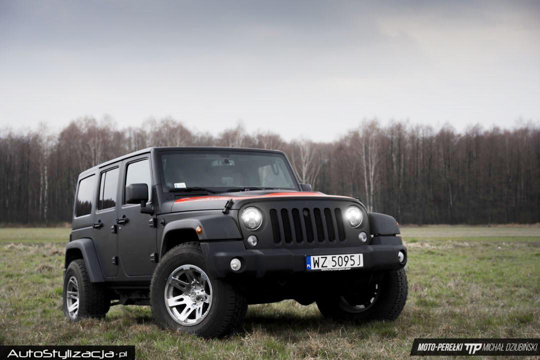 Ochrona Lakieru Samochodu Jeep Wrangler