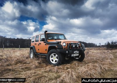 Profesjonalne Oklejanie Karoserii Auta Jeep Wrangler