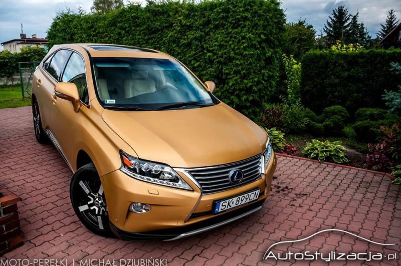 Zmiana Koloru Samochodu Lexus RX450H