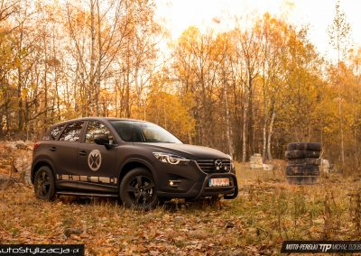 Mazda CX-5 Avengers Car Wrap Styling