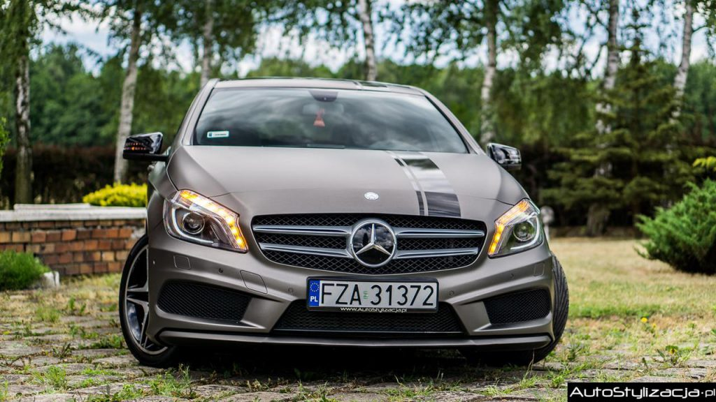 Zmiana Koloru Auta Mercedes A