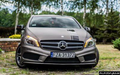 Foliowanie Samochodu Mercedes A Folią od 3M