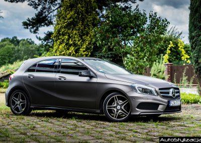 Mercedes A Folia 3M Matte Charcoal Metallic